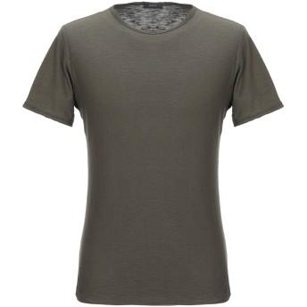 《セール開催中》KAOS メンズ T シャツ ミリタリーグリーン S コットン 100%