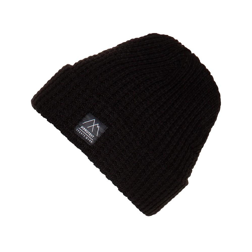 PROTEST 保暖毛帽 (真實黑) PANGO BEANIE