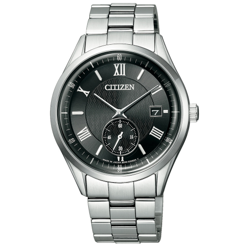 CITIZEN 經典小秒針光動能腕錶BV1120-91E