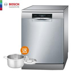 不油自煮↘再享好禮【BOSCH 博世】14人份 獨立式洗碗機(含基本安裝) SMS88MI01X