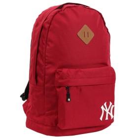 [メジャーリーグベースボール] リュック デイパック バックパック カバン かばん 鞄 MLB メジャーリーグベースボール ロゴ 刺繍 600Dポリエステル レディース メンズ ユニセックス YK-MBBK07 ワインレッド One Size
