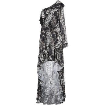 《セール開催中》GIL SANTUCCI レディース ミニワンピース&ドレス ブラック 40 ポリエステル 100%
