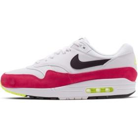 Nike Air Max 1 [AH8145-111] Men Casual Shoes White/Black-Volt-Rush Pink/US 9.5