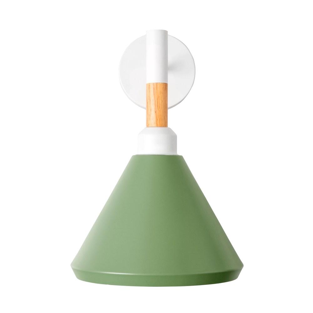 組 - 特力屋萊特 合木 壁燈 綠鐵燈罩
