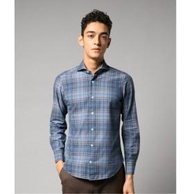 [マルイ]【セール】メンズシャツ(giannetto ツイルチェックカッタウェイ)/エディフィス(EDIFICE)