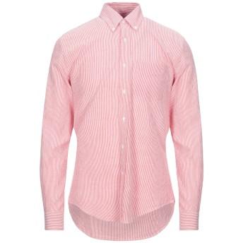 《セール開催中》ASPESI メンズ シャツ レッド S コットン 100%
