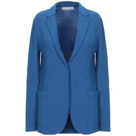 《セール開催中》HARRIS WHARF LONDON レディース テーラードジャケット ブルー 44 コットン 86% / 麻 14%