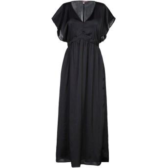 《セール開催中》ROSE' A POIS レディース ロングワンピース&ドレス ブラック 40 ポリエステル 100%