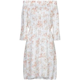 《セール開催中》MICHELA MII レディース ミニワンピース&ドレス ホワイト one size レーヨン 100%