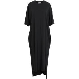 《セール開催中》BERNA レディース 7分丈ワンピース・ドレス ブラック S コットン 100%
