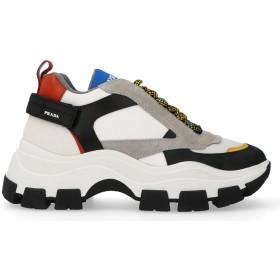 [プラダ] ラグジュアリー ファッション メンズ スニーカー 冬 US サイズ: 8 カラー: ホワイト