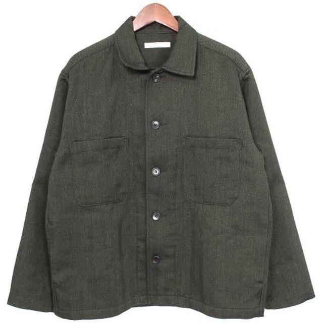 JOURNAL STANDARD 18AW ヘリンボーンカバーオールジャケット グレー サイズ:M (吉祥寺店) 191105