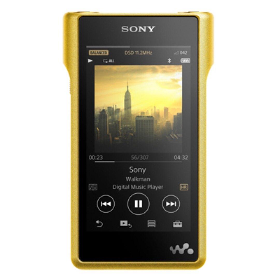 SONY 索尼 NW-WM1Z 金磚 旗艦 無氧銅鍍金外殼 高解析 隨身 數位 播放器 | 金曲音響