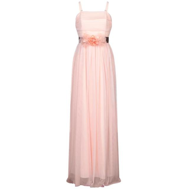 《セール開催中》ALLURE レディース ロングワンピース&ドレス ピンク 8 ポリエステル 100%