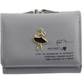 ファッションレディース レザー財布、 大容量レトロスタイルジッパー ウォレット 無地財布 カード 高級感パッケージ カード クロス多収納クラッチ 本革製 バッグ