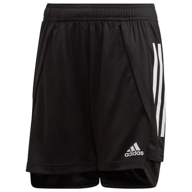 ジュニア CON20 トレーニングショーツ キッズ ブラック 【adidas|アディダス】サッカーフットサルジュニアウェアーfyz06-ea2501