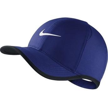 (セール)NIKE(ナイキ)スポーツアクセサリー 帽子 ナイキ YTH フェザーライト キャップ 739376-455 ジュニア MISC ディープロイヤルブルー/ブラック/(...