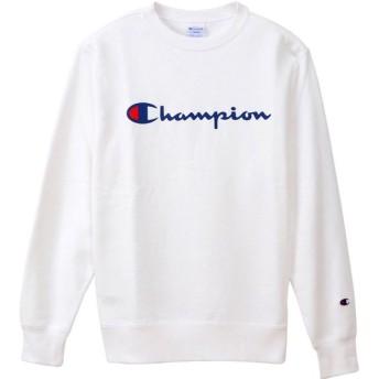 Champion(チャンピオン) クルーネック スウェットシャツ メンズ C3Q002 ホワイト