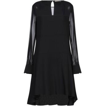 《セール開催中》PENNYBLACK レディース ミニワンピース&ドレス ブラック 44 アセテート 82% / レーヨン 18%