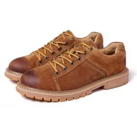 [KYUNEKY12] メンズ ブーツ メンズブーツ チャッカブーツ ショートブーツ シューズ レースアップ 靴 24.0cm 27.0cm スノーブーツ ライブ 26.5cm 普段 日常 ファッション 歩きやすい 軽量 就活 秋 冬 ぶらうん イギリス マーチンブーツ 7ホール