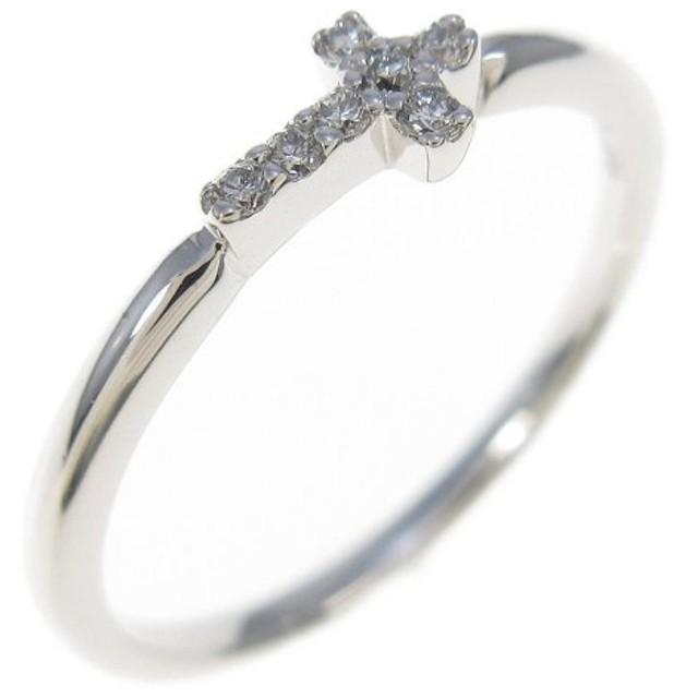 スタージュエリー クロス ダイヤモンドリング