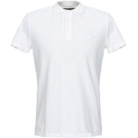 《セール開催中》MACCHIA J メンズ ポロシャツ ホワイト S コットン 100%