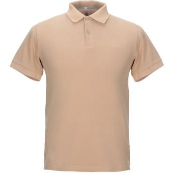 《セール開催中》SUN 68 メンズ ポロシャツ ベージュ S コットン 100%