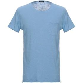 《セール開催中》SEVENTY SERGIO TEGON メンズ T シャツ パステルブルー M コットン 100%