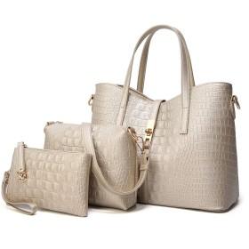 さんPuの母バッグヨーロッパとアメリカのシンプルな大きな袋マルチピースメッセンジャーバッグファッショントレンドハンドバッグ大容量ショルダ