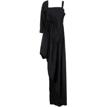 《セール開催中》ISABEL BENENATO レディース ミニワンピース&ドレス ブラック 38 コットン 100%