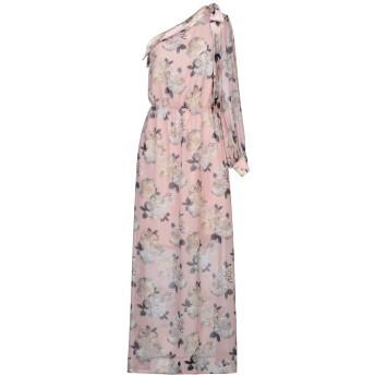 《セール開催中》RUBENDELLARICCIA レディース ロングワンピース&ドレス ピンク 40 ポリエステル 100%
