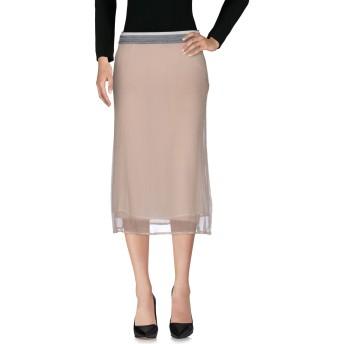 《セール開催中》MARNI レディース 7分丈スカート ローズピンク 42 シルク 89% / コットン 11%