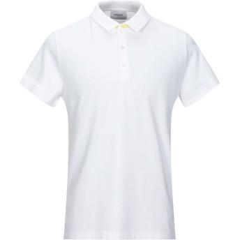 《セール開催中》DONDUP メンズ ポロシャツ ホワイト S コットン 95% / ポリウレタン 5%