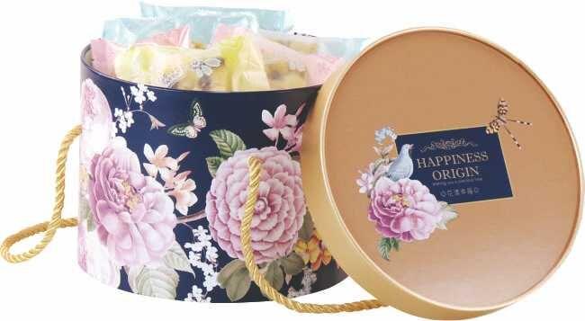 【優惠量】圓筒盒18cm/花漾幸福 / 180個