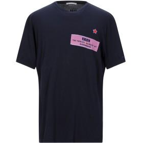 《セール開催中》GREY DANIELE ALESSANDRINI メンズ T シャツ ダークブルー XXL コットン 100%