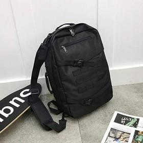 Baggie 高校生キャンパス無地スポーツ旅行バッグ大容量多機能ストリートバックパック