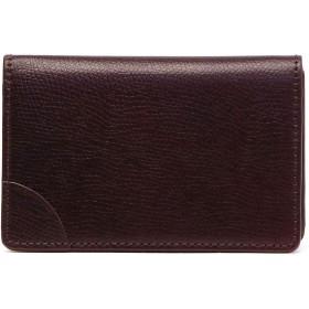[クベラ 9981]KUBERA 9981 コードバン BASIC BUSINESS CARD CASE 名刺入れ 51089 ワイン