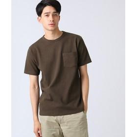 【SALE(三越)】<DRESSTERIOR/ドレステリア> ポケットTシャツ ヘビーウェイト天竺(2001560972) チャ【三越・伊勢丹/公式】