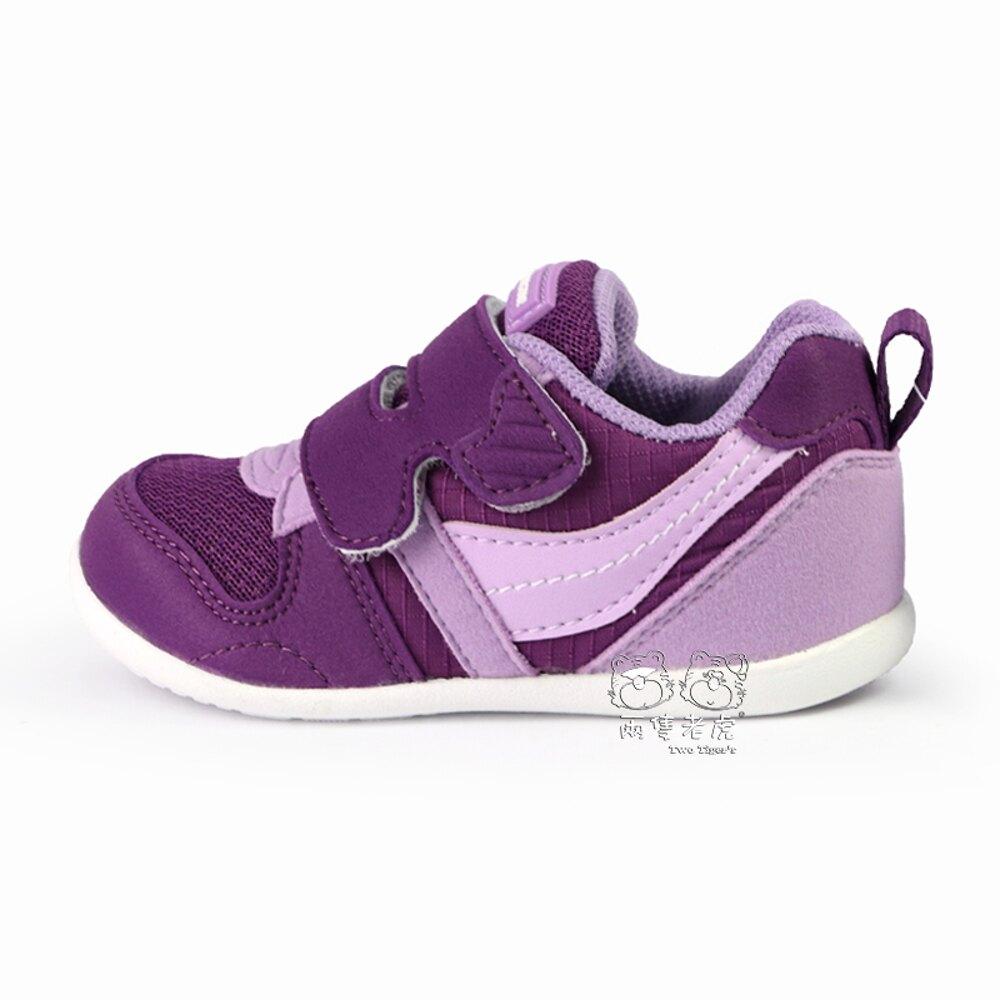 MoonStar 日本月星 CRHI 2E 寶寶鞋 紫色 魔鬼氈 小童鞋 NO.R4447