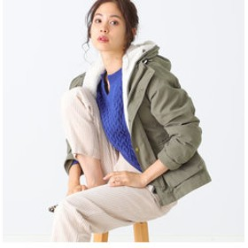 【B:MING LIFE STORE by BEAMS:アウター】B:MING by BEAMS / 3WAY ボアライナーマウンテンパーカ 19AW