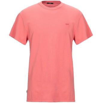 《セール開催中》OBEY メンズ T シャツ サーモンピンク S コットン 100%