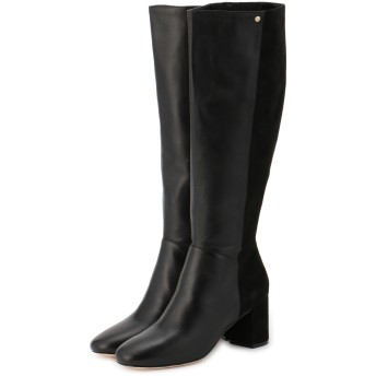 COLE HAAN コールハーン RIANNE BOOT ロングブーツ,BLACK LEATHER AND SUEDE