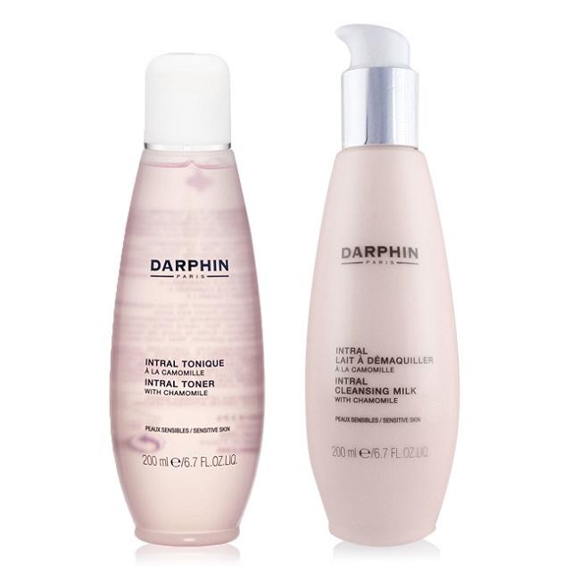 Darphin 朵法 全效舒緩化妝水(200ml)+潔膚乳(200ml)-公司貨