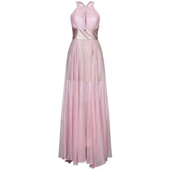 《セール開催中》GIL SANTUCCI レディース ロングワンピース&ドレス ピンク 40 ポリエステル 70% / ポリウレタン 30%
