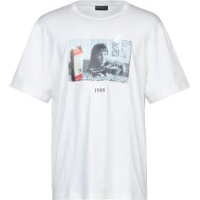 《セール開催中》THROWBACK. メンズ T シャツ ホワイト L コットン 100%