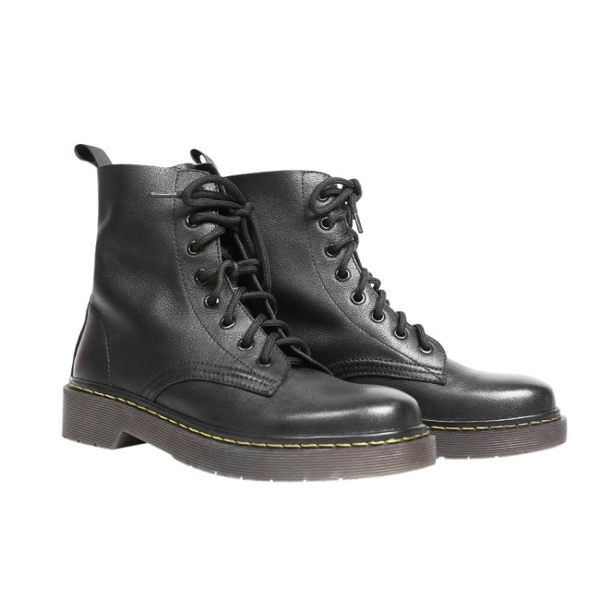 馬丁靴女英倫風黑色靴子2019新款百搭真皮短靴春秋女鞋