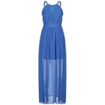 《セール開催中》LIPSY レディース ロングワンピース&ドレス ブルー 8 ポリエステル 100%