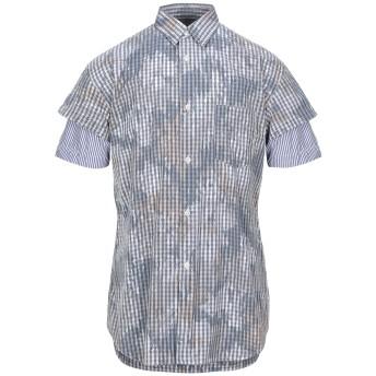 《セール開催中》COMME des GARONS SHIRT メンズ シャツ グレー M コットン 100%