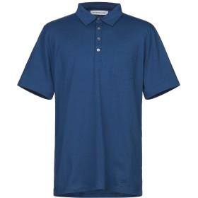 《セール開催中》DEPARTMENT 5 メンズ ポロシャツ ブルー S コットン 100%