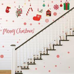 時尚壁貼-聖誕禮物盒XL828